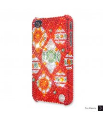 Xmas Bling Crystal iPhone 4 and iPhone 4S Case