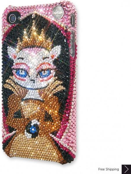 女王クリスタル iPhone 4 と 4 s の iPhone ケース