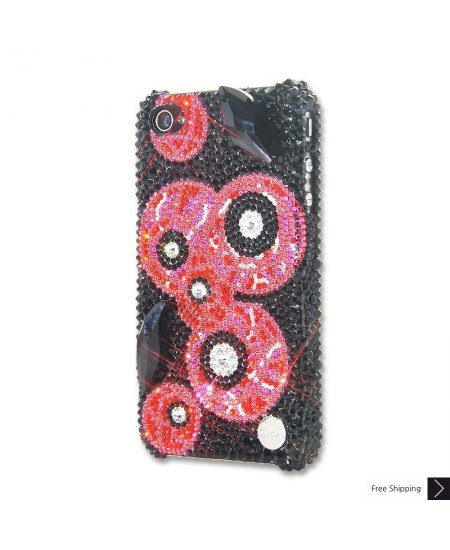 Evil Eyes Crystal iPhone 4 and iPhone 4S Case