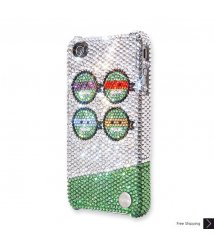 Ninja Peas Crystal iPhone 4 and iPhone 4S Case