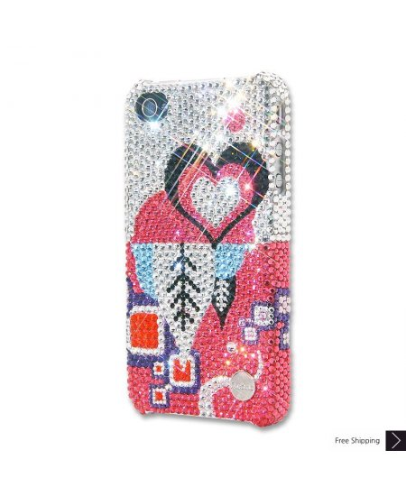 Feminine Crystal iPhone 4 and iPhone 4S Case