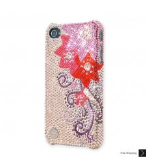 Camellia Crystal iPhone 4 and iPhone 4S Case