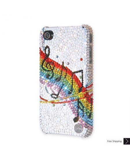 Swinging Melody Crystal iPhone 4 and iPhone 4S Case