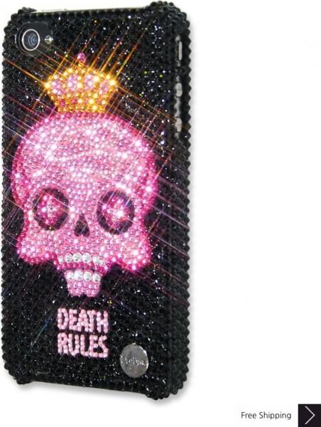 死ルール クリスタル iPhone 4 と 4 s の iPhone ケース