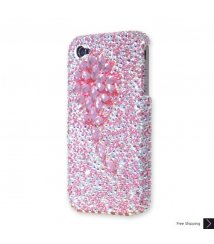 Cubic Blossom Crystal iPhone 4 and iPhone 4S Case