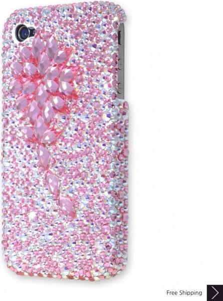 立方花クリスタル iPhone 4 と 4 s の iPhone ケース