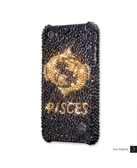 Pisces Crystal iPhone 4 and iPhone 4S Case