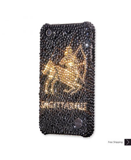 Sagittarius Crystal iPhone 4 and iPhone 4S Case