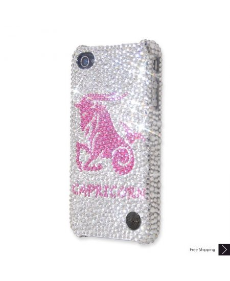 Capricorn Crystal iPhone 4 and iPhone 4S Case
