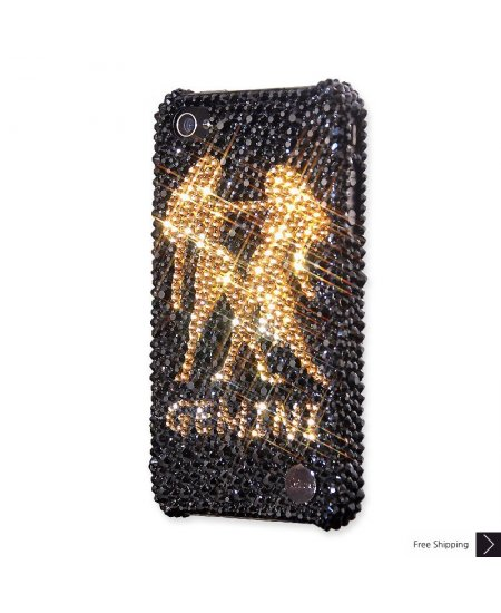 Gemini Crystal iPhone 4 and iPhone 4S Case