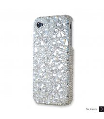 Snowflake Crystal iPhone 4 and iPhone 4S Case