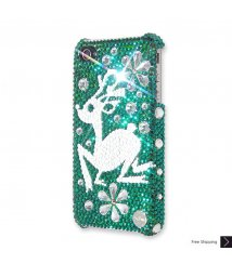 Snowflake Rudolf Crystal Phone Case