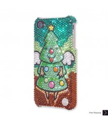 Angel Christmas Tree Crystal Phone Case