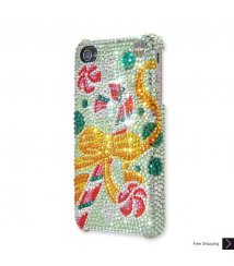 Christmas Candy Crystal Phone Case