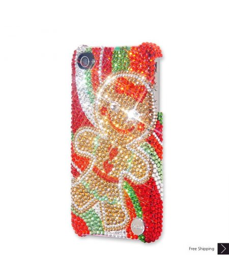 The Gingerbread Cookie Crystal Phone Case