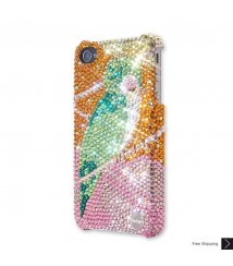 Royal Feathers Crystal Phone Case