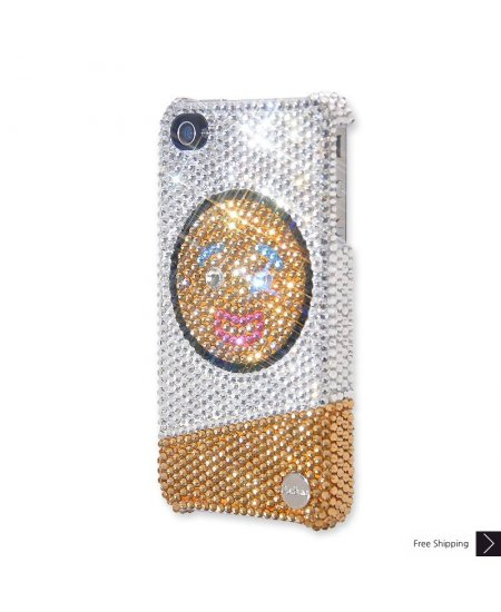 Yummy Gingerbread Man Crystal Phone Case