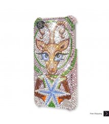 Rudolf Shines Crystal Phone Case
