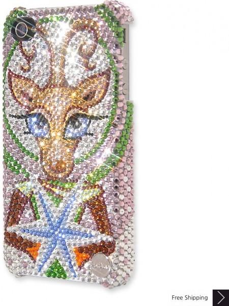Rudolf Shines Crystal Phone Case