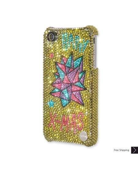 Christmas Star Crystal Phone Case