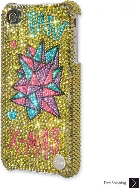Christmas Star Crystal Phone Case