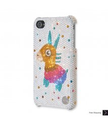 Cute Rudolf Crystal Phone Case