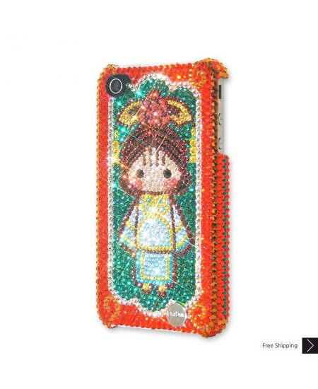 Princess Qing Crystal Phone Case