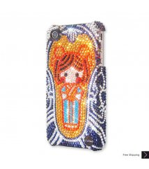 Lady Porcelain Crystal Phone Case