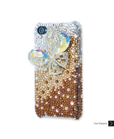 Butterfly Crystal Phone Case