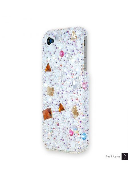 Geometric Crystal Phone Case