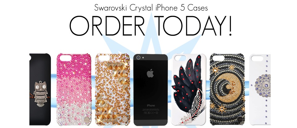 Bling Swarovski Crystal iPhone 5 Cases